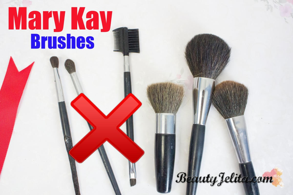 MARY KAY MAKEUP BRUSHES BAN FOR LIFE!!