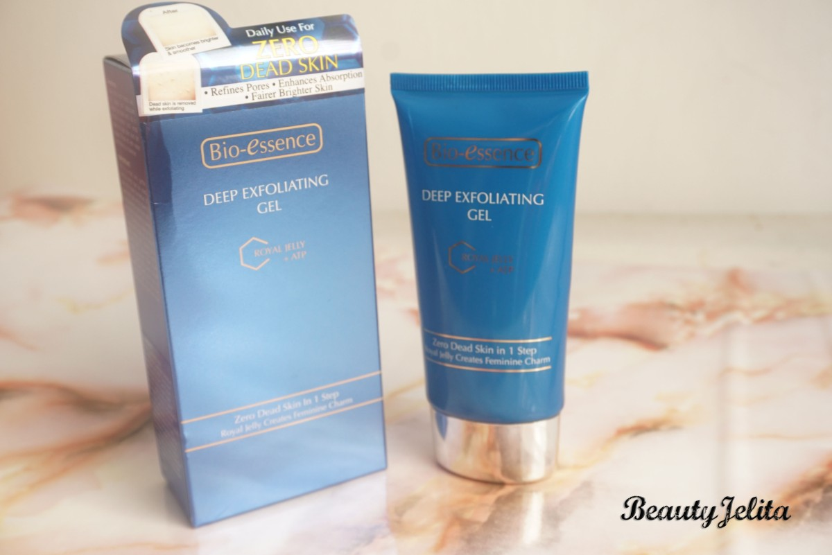 BIO ESSENCE DEEP EXFOLIATING GEL -FACE SCRUB