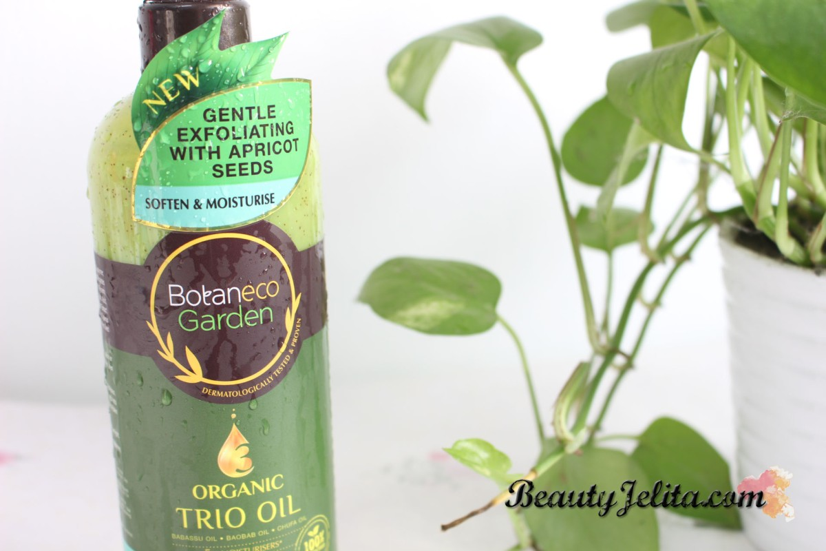 EXFOLIATING BATH - BOTANECO GARDEN TRIO OIL